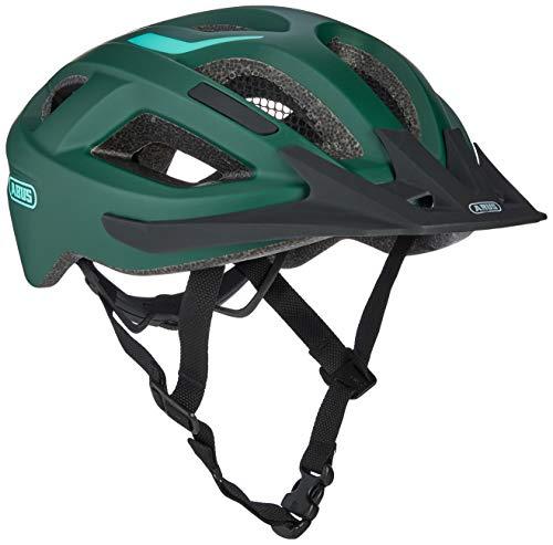 Abus Unisex– Erwachsene ADURO 2.1 Road Helm, smaragd green, 52-58 cm