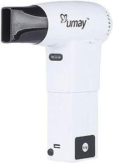 Secador de Pelo Inalámbrico, secador de pelo inalámbrico recargable de 450W para viajes/Camping/cuidado del bebé/cuidado de mascotas/al aire libre