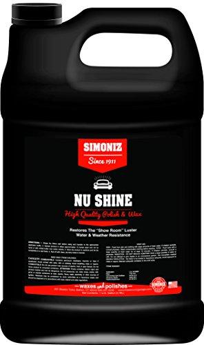 Simoniz S3294001 Nu Shine Car Polish, 1 Gallon, 1 Pack