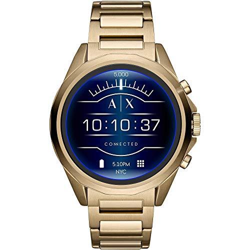 Armani Exchange Reloj inteligente para hombre con correa de acero inoxidable AXT2001 (renovado)
