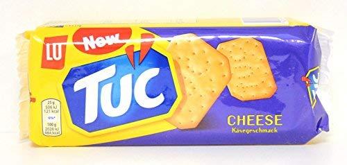 12x TUC Käse cheese Salzgebäck Kekse Crackers Salz gesalzen gebäck 100g