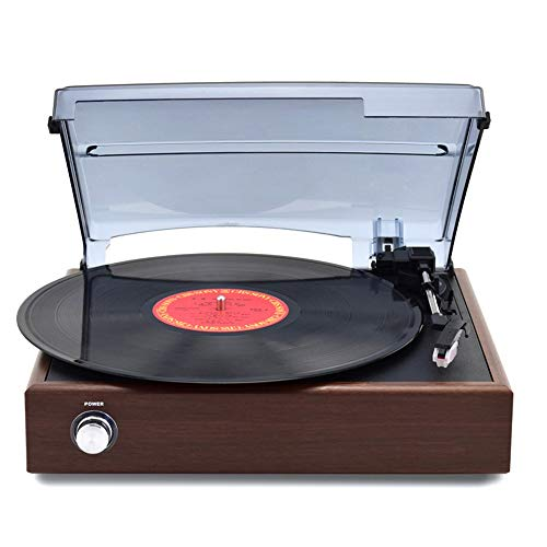 VSander Schallplatten-Retro Modernen Haushalt Bluetooth CD-Player Grammophon Alte LP Plattenspieler Eingebauten Lautsprecher Continental