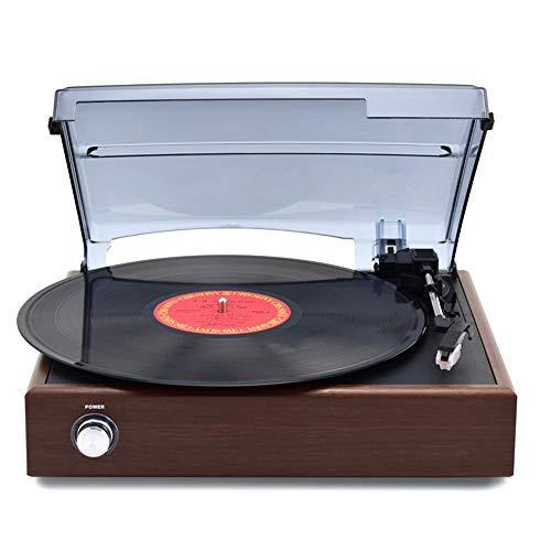 De enige goede kwaliteit meubels Vinyl Record Speler Retro Moderne Huishoudelijke Bluetooth CD Speler Gramophone Oude LP Record Speler Ingebouwde Speakers Continentaal
