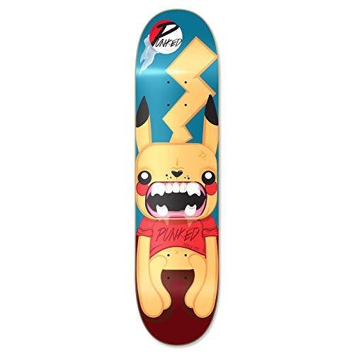 Yocaher Punked Skateboards Deck - Skateboard Deck 7.75' Pika
