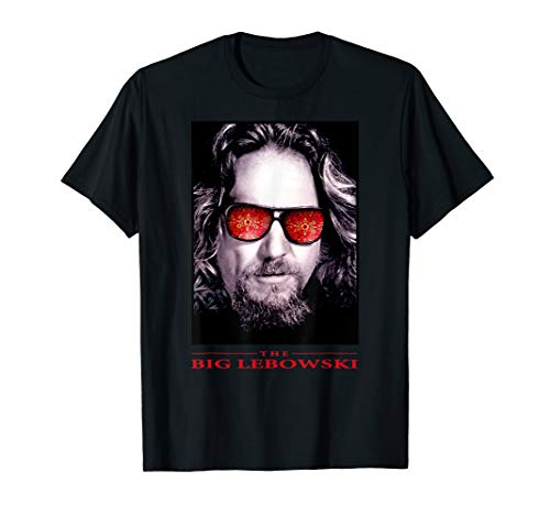 The Big Lebowski The Dude Rug Sun Glasses Poster T-Shirt