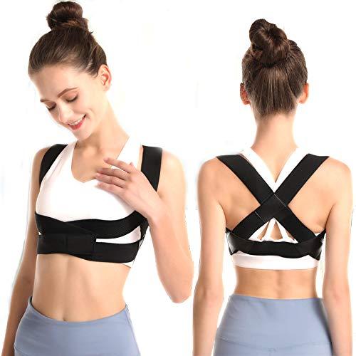 BEIBEI Haltungskorrektur Rückenstabilisator für Damen Rücken Geradehalter zur Haltungskorrektur Rückenstütze Verstellbare Obere Rückenstütze Haltungstrainer