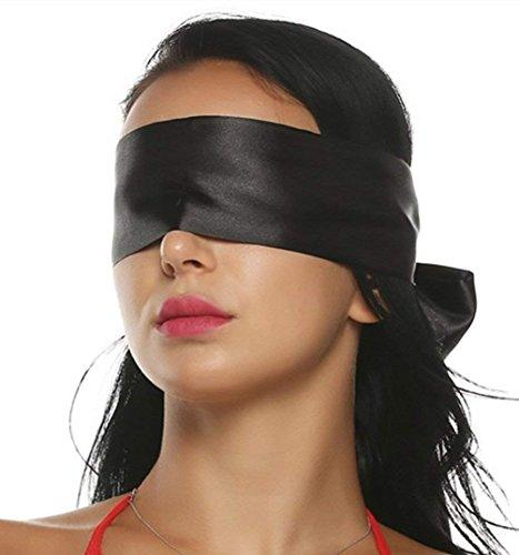 SM Augenmaske Augenbinde Fetisch Bondage Sexspielzeug für Paare Extrem Bdsm Fesseln Sex Erotik Spielzeug Sex Toy for Women (Spielsatin )