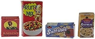 5 Diff Various Suppliers 1//12th Jello Dollhouse Miniature Cookies Raisins