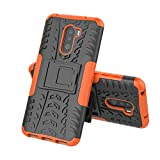 MRSTER Xiaomi Pocophone F1 Case, Tyre Pattern Design Heavy