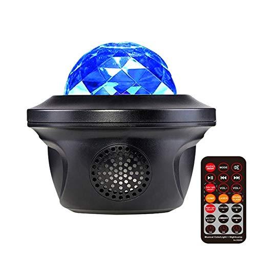 Star de proyector Starlight Sky Sky Ocean Wave Lights 360 grados Rotación Night Lámpara de proyección Dormitorio Decoración Tumblr