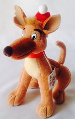 """All Dogs Go to Heaven """"Charlie"""" Christmas 8'' Plush by Denny's by Denny's"""