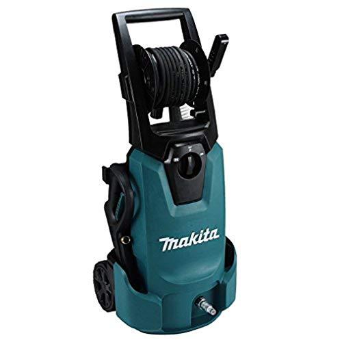 Makita HW1300 Vertical Eléctrico 420l/h 1800W Negro, Azul Limpiadora de alta presión o Hidrolimpiadora - Limpiador de alta presión (Vertical, Eléctrico, 10 m, Low-pressure, 5 m, Negro, Azul)