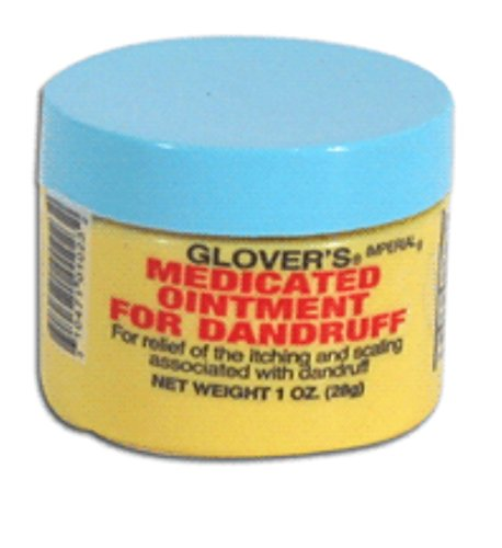 Glover's Medicated Ointment For Dandruff, 1 Ounce