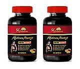 Appetite suppressant Mood Enhancer - African Mango Extract 1200mg - African Mango high Blood Pressure - 2 Bottles