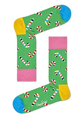 Happy Socks Herren Candy Cane Socken, Mehrfarbig (Multicolour 730), 7/10 (Herstellergröße: 41-46)