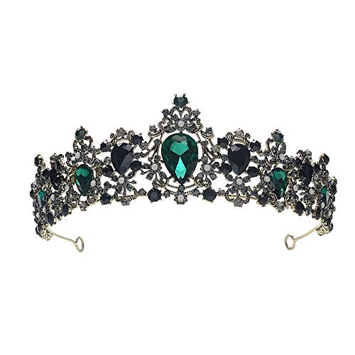 wangk rowns Hairband Engagement Wedding Hair Accessories Women Crowns for Beauty Vintage HG7411