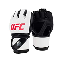 Open palm design Great for grappling Secure hook & loop closure Soft finger compartments for comfort while gripping Durable engineered synthetic leather