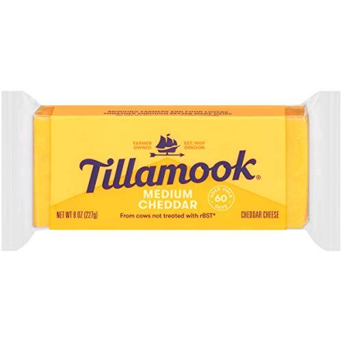 Tillamook, Medium Cheddar Cheese, 8 oz