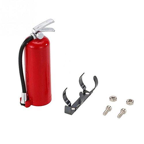 VICKY-HOHO Rc Axial 1:10 Scale Rc Crawler Zubehörteile Feuerlöscher kompatibel mit Axial Scx10 Trx4 D90 Hubschrauber