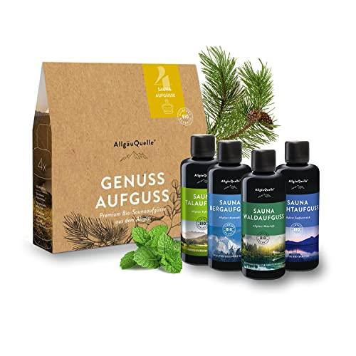 AllgäuQuelle Naturprodukte GmbH -  Saunaaufguss-Set mit