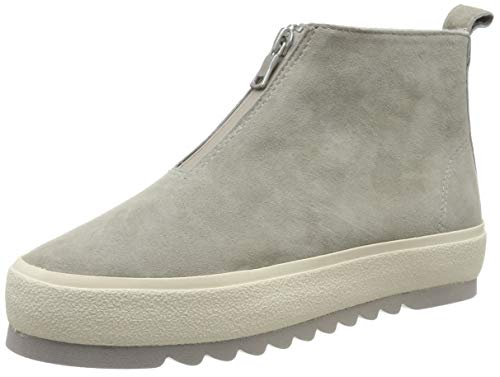 Marc O'Polo Damen 90914556003301 Hohe Sneaker, Grau (Taupe 717), 38 EU