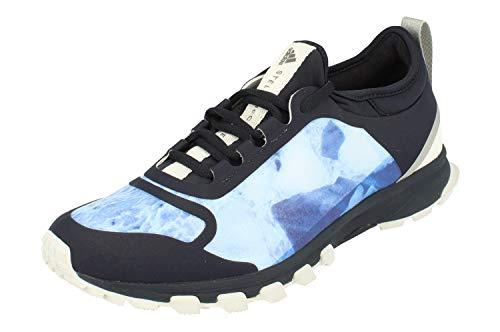 adidas Stella McCartney Womens Adizero XT Running Trainers Sneakers (UK 8 US 9.5 EU 42, Blue White Purple S80832)