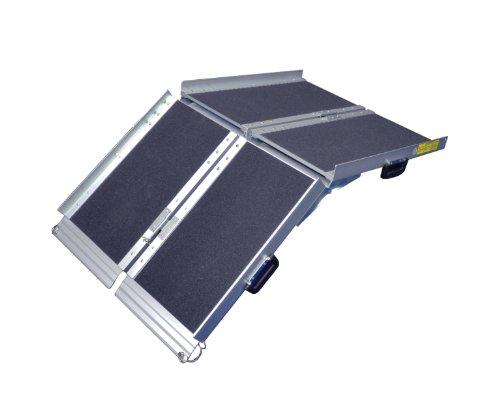 Aidapt VA143S Tri-Fold Anti-Rutsch-Rollstuhlrampe 1,8 m