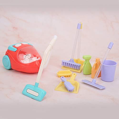 03 Sound Highly Simulation Staubsauger Spielzeug, interessante Kinder Staubsauger Spielzeug für Kinder zum Spielen(Vacuum Cleaner)