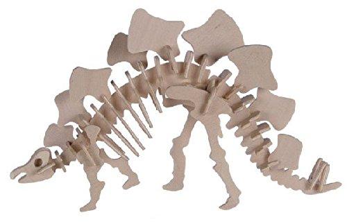 Out of the blue - Puzzle Bois 3D Stégosaurus -12 x 30 cm