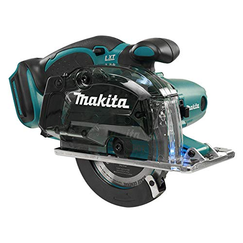 Makita DCS552Z Metallsäge, 18 V, blau, 136 mm, 136mm