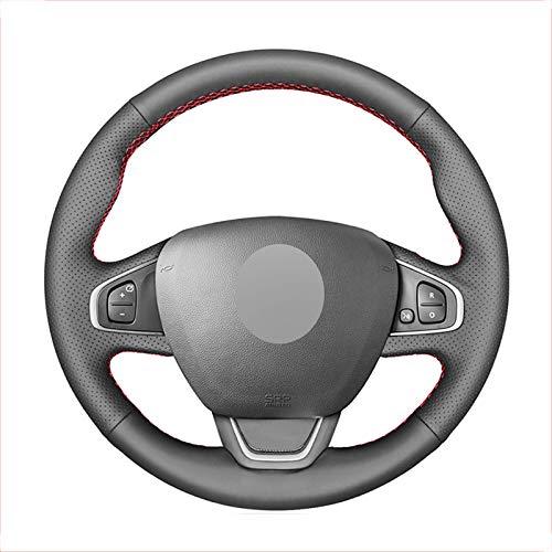Schwarze PULenkradabdeckung , für Renault Clio 4 (IV) Kaptur Captur 2016~2019