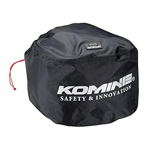 コミネ(KOMINE) バイク用 WRヘルメットバッグ ブラック Free AK-338 1056 防水
