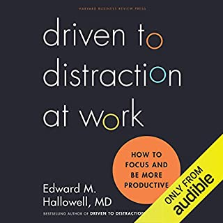Driven to Distraction at Work audiobook cover art
