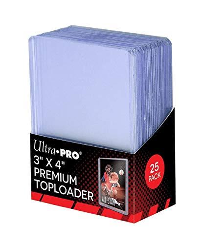 Ultra Pro 3' X 4' Super Clear Premium Toploader 100ct
