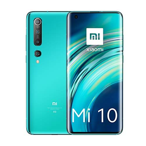Xiaomi Mi 10 Smartphone, 256 + 8 GB, Coral Green