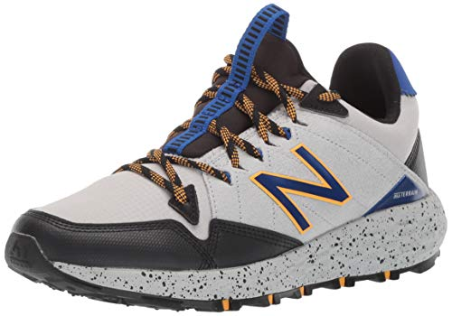 New Balance Men's Fresh Foam Crag Trail V1 Running Shoe, Marblehead/Black, 18 M US