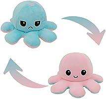 Peluche de Pulpo Reversible-Bonitos Juguetes de Peluche, muñeco de peluche juguetes creativos el Pulpo Reversible...
