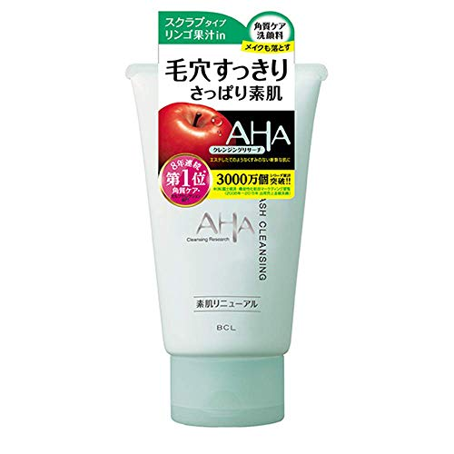 Cleansing Research AHA Face Wash Cleansing 120g - N (Green Tea Set)