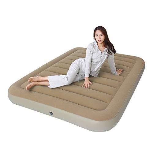 Luftbett-Individuelle Doppel Aufblasbare Bett Verdicken Outdoor Tragbare Matratze Haushalt Erhöhen Luftmatratze Mit Elektrische Luftpumpe (Größe: 120 * 200 * 22 cm)