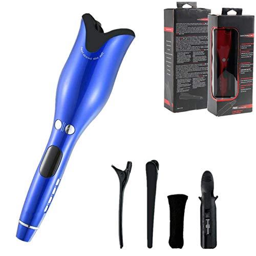 Waver Styler - Rizador de pelo automático, rizador de pelo, rizador de pelo, rizador de pelo, herramienta de rizos portátiles, rizador de pelo, hierro azul
