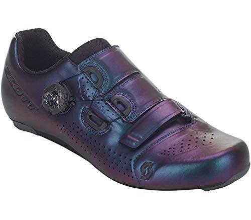 SCOTT Zapatilla Carretera Team Boa Ciclismo, Hombre, Prism Purple/Black, 46