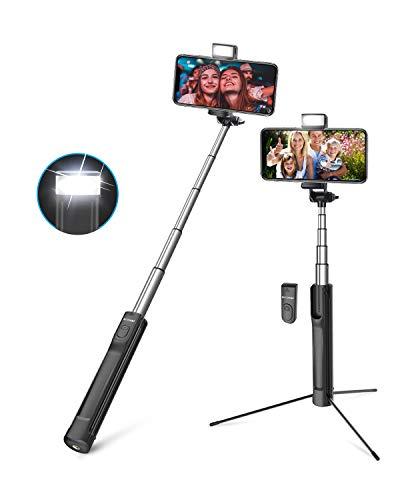 Bastone Selfie Treppiede Bluetooth, BlitzWolf 3 in 1 Selfie...