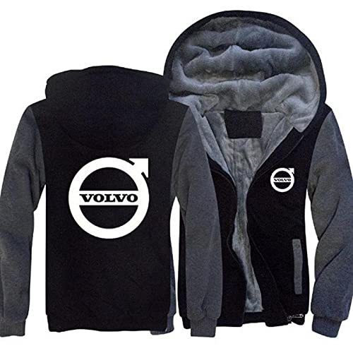 Volvo Jacket with small front logo and large back logo design