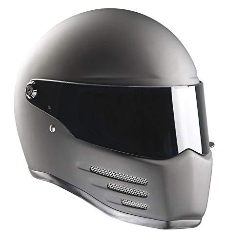 Bandit Fighter Casque de moto Noir mat Taille L