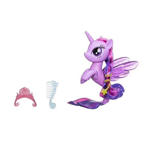 Hasbro My Little Pony C1831ES0 - Glitzernde Seeponys Stylingspaß Twilight Sparkle, Spielset