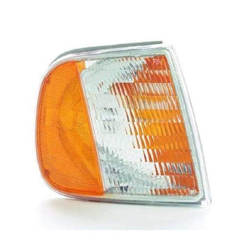 Go-Parts - for 1997 - 2003 Ford F-150 Side Marker Light Assembly / Lens Cover - Front Right (Passenger) Side - (King Ranch + Lariat + XL + XLT) F75Z 13200 AC FO2551118 Replacement 1998 1999 2000