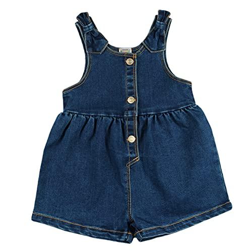 Top Top Spodnie dziewczęce Laquero, Jeans, 6-9 Miesiące