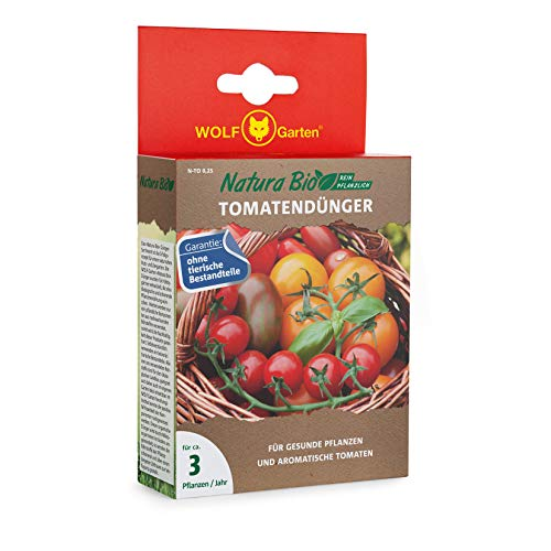 WOLF Garten - Gemüsedünger in Rot, Größe ca. 3 Pflanzen/Jahr