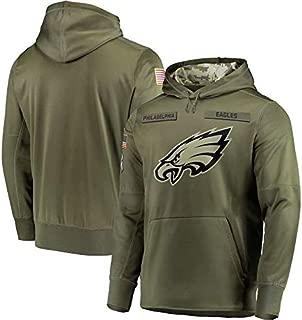 Dunbrooke Apparel Philadelphia Eagles Salute to Service Hoodie Camo for Men Women Youth