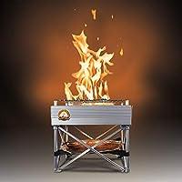 Fireside Outdoor Portable Trailblazer Fire Pit & Grill (12